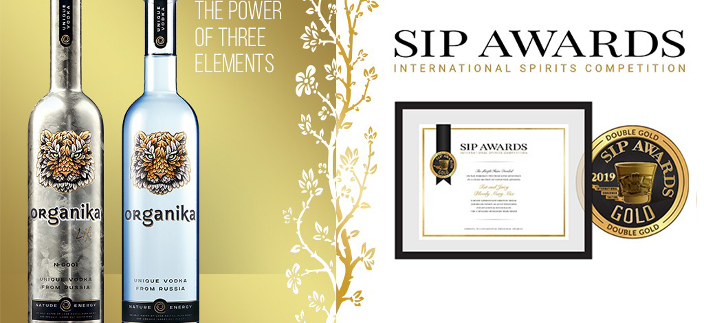 Organika Vodka 2019 SIP Awards