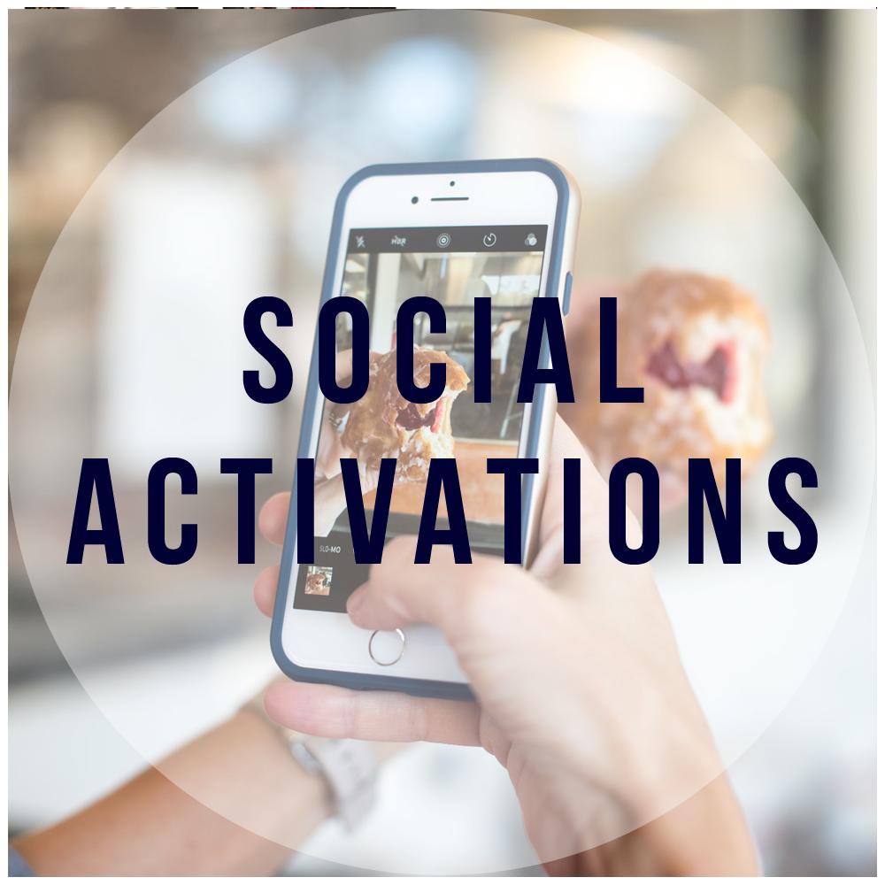 Social Media Activations